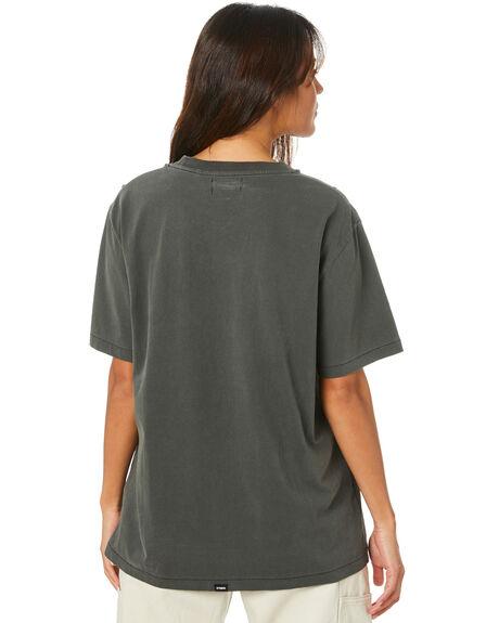 MERCH BLACK WOMENS CLOTHING THRILLS TEES - WTH20-106BM_MBLK