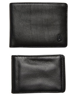ALL BLACK MENS ACCESSORIES NIXON WALLETS - C763001