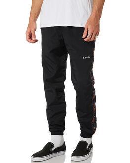 BLACK MENS CLOTHING BARNEY COOLS PANTS - 710-CC1BLK
