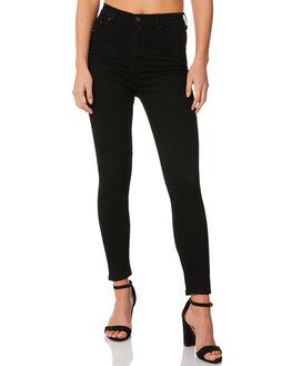 BLACK CHOP WOMENS CLOTHING ZIGGY JEANS - ZW-591CHOP