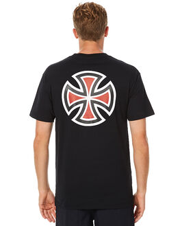 BLACK MENS CLOTHING INDEPENDENT TEES - IN-MTA6001BLK