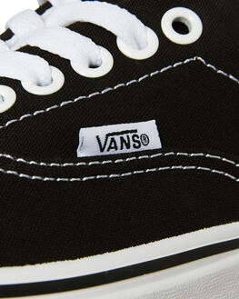 BLACK WOMENS FOOTWEAR VANS SNEAKERS - SSVN-0EWZBLKW