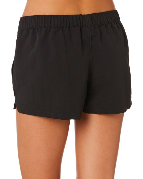 BLACK WOMENS CLOTHING PATAGONIA SHORTS - 57043BLK