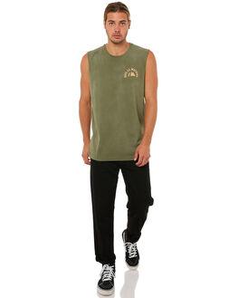 CLOVER MENS CLOTHING DEUS EX MACHINA SINGLETS - DMA81196ACLVR