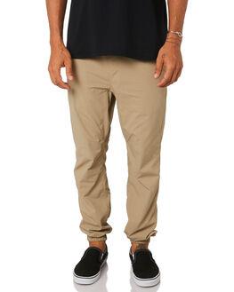 KHAKI MENS CLOTHING HURLEY PANTS - MPT000067026B