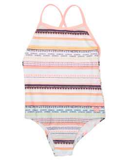 BRIGHT DREAM STRIPE KIDS TODDLER GIRLS ROXY SWIMWEAR - ERLX103020WBB3