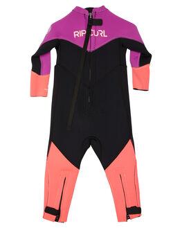 BLACK PINK BOARDSPORTS SURF RIP CURL GIRLS - WSM6DO0378