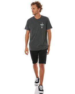 BLACK MENS CLOTHING VOLCOM TEES - A5241701BLK