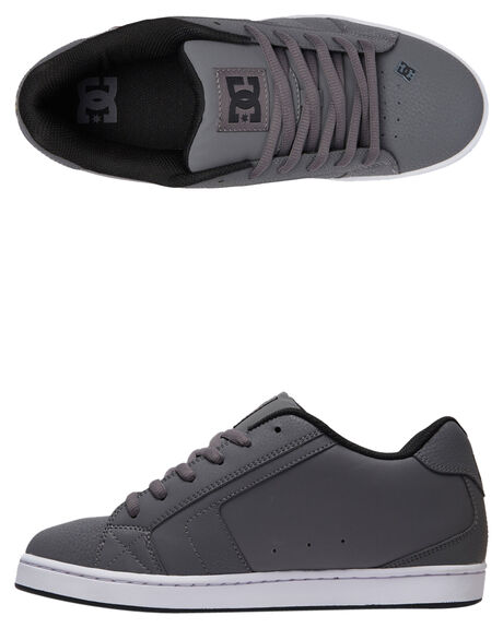 GREY BLACK GREY MENS FOOTWEAR DC SHOES SNEAKERS - 302361-XSKS