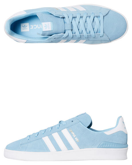 CLEAR BLUE MENS FOOTWEAR ADIDAS SKATE SHOES - SSB22715BLUM