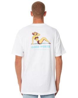 WHITE MENS CLOTHING GOOD WORTH TEES - TIN1812WHITE