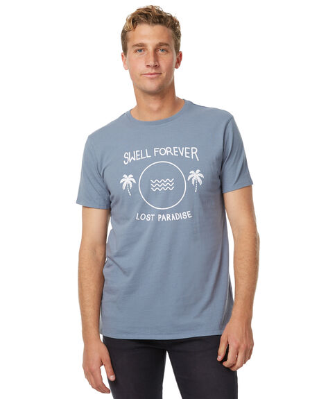CADET BLUE OUTLET MENS SWELL TEES - S5174009CBLU