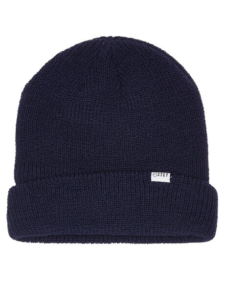 NAVY MENS ACCESSORIES STCY MFG HEADWEAR - STHESEABRGNVY