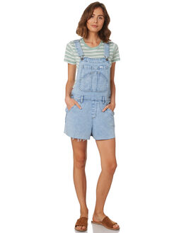 REAL BLUE WOMENS CLOTHING LEE PLAYSUITS + OVERALLS - L-656617-766