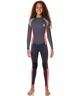 NEON PINK SURF WETSUITS RIP CURL STEAMERS - WSM6AJ8871