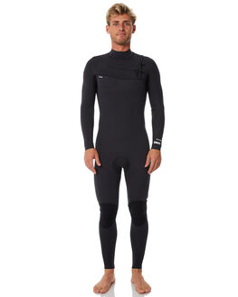 BLACK BOARDSPORTS SURF NCHE WETSUITS MENS - 32CHESTZIPBLK