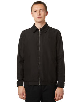 BLACK MENS CLOTHING NO NEWS JACKETS - N5174381BLK