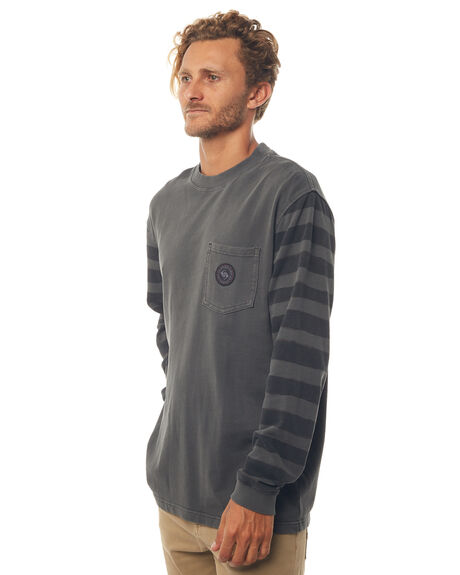 BLACK MENS CLOTHING QUIKSILVER JUMPERS - EQYFT03752KVJ0