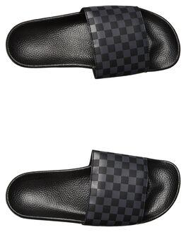 BLACK ASPHALT MENS FOOTWEAR VANS SLIDES - VNA33TYQ4CGRY