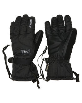 BLACK BOARDSPORTS SNOW POW GLOVES - WCX-A-S-GTX-BKBLK