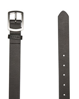 BLACK MENS ACCESSORIES RUSTY BELTS - BEM0500BLK