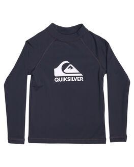 DARK GREY SURF RASHVESTS QUIKSILVER TODDLER BOYS - EQKWR03018KVA0