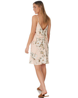 PEACH WOMENS CLOTHING RIP CURL DRESSES - GDRBY90165