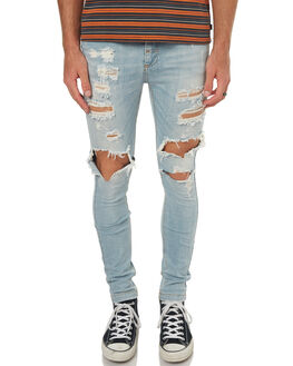 SUPER BLEACH MENS CLOTHING THE PEOPLE VS JEANS - AW18001SBLEA