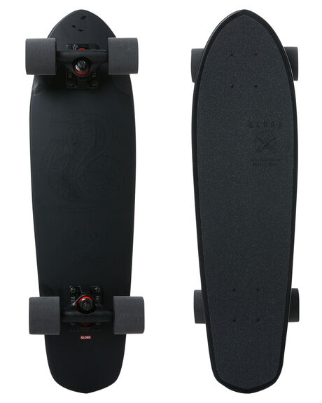 BLACK THE F OUT BOARDSPORTS SKATE GLOBE COMPLETES - 10525125BLK