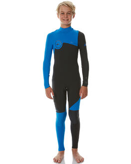 GRAPHITE CYAN SURF WETSUITS QUIKSILVER STEAMERS - EQBW103004XKKB