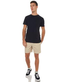 TAN MENS CLOTHING STUSSY BOARDSHORTS - ST072620TAN