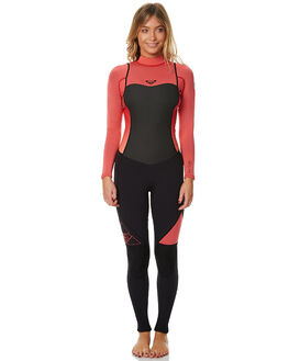 PARADISE PINK SURF WETSUITS ROXY STEAMERS - ERJW103014MLR0