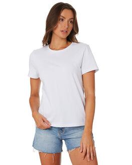 WHITE WOMENS CLOTHING HUFFER TEES - WTE94C4001WHI