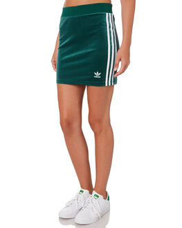 COLLEGIATE GREEN WOMENS CLOTHING ADIDAS SKIRTS - DV2582GRN