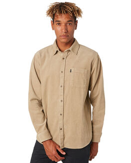 KHAKI MENS CLOTHING RIP CURL SHIRTS - CSHNP10064
