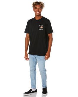 BLACK MENS CLOTHING SALTY CREW TEES - 20035304ABLK