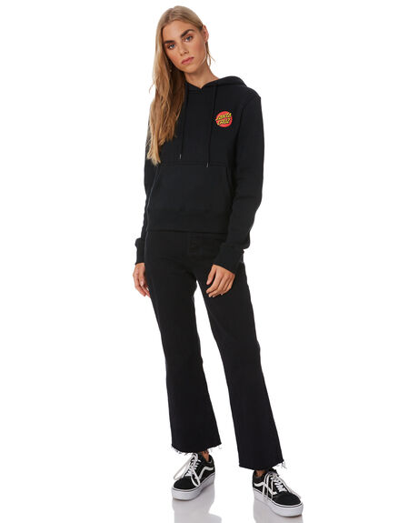 BLACK WOMENS CLOTHING SANTA CRUZ JUMPERS - SC-WFB0142BLK