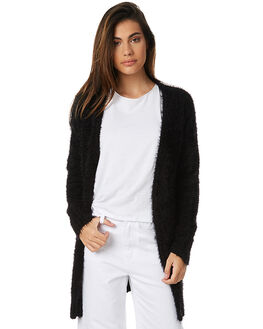 BLACK WOMENS CLOTHING MINKPINK KNITS + CARDIGANS - MP1611801BLK