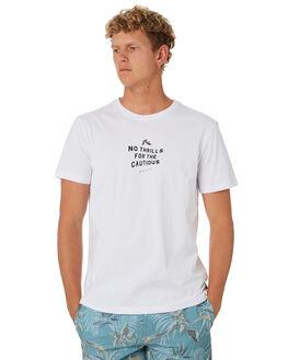 WHITE MENS CLOTHING RUSTY TEES - TTM2291WHT