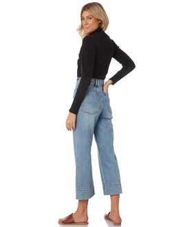 THRIFT BLUE WOMENS CLOTHING THRILLS JEANS - WTDP-414ETBLU