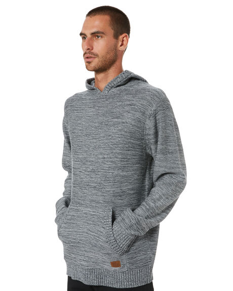 GREY HEATHER MENS CLOTHING SWELL KNITS + CARDIGANS - S5204141GREY