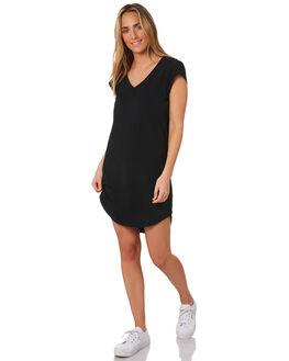 BLACK WOMENS CLOTHING BETTY BASICS DRESSES - BB235BLK