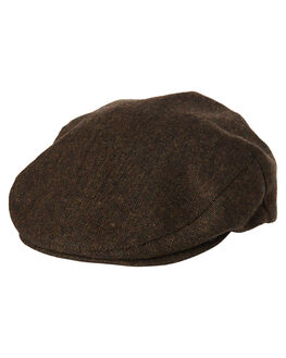 DARK BROWN MENS ACCESSORIES BRIXTON HEADWEAR - 00005DKBRN