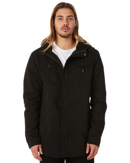 BLACK MENS CLOTHING SWELL JACKETS - S5162384BLACK