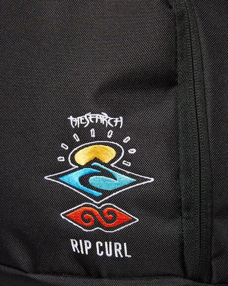 BLACK MENS ACCESSORIES RIP CURL BAGS + BACKPACKS - BBPZL20090