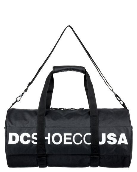 BLACK MENS ACCESSORIES DC SHOES BAGS + BACKPACKS - EDYBA03040KVJ0