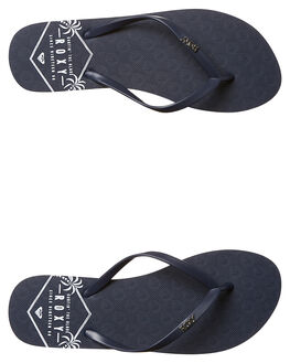 NAVY WOMENS FOOTWEAR ROXY THONGS - ARJL100543NA4