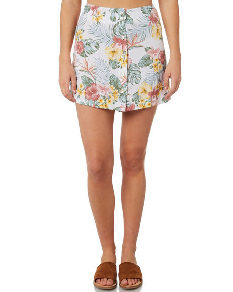 FLORAL WOMENS CLOTHING SWELL SKIRTS - S8184471FLORL