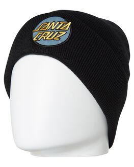 d34d7e863f9 BLACK MENS ACCESSORIES SANTA CRUZ HEADWEAR - SC-MCA9180BLK