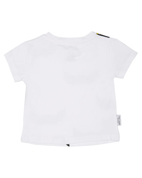 WHITE KIDS BABY TINY TRIBE CLOTHING - TTS17-11030VWHT